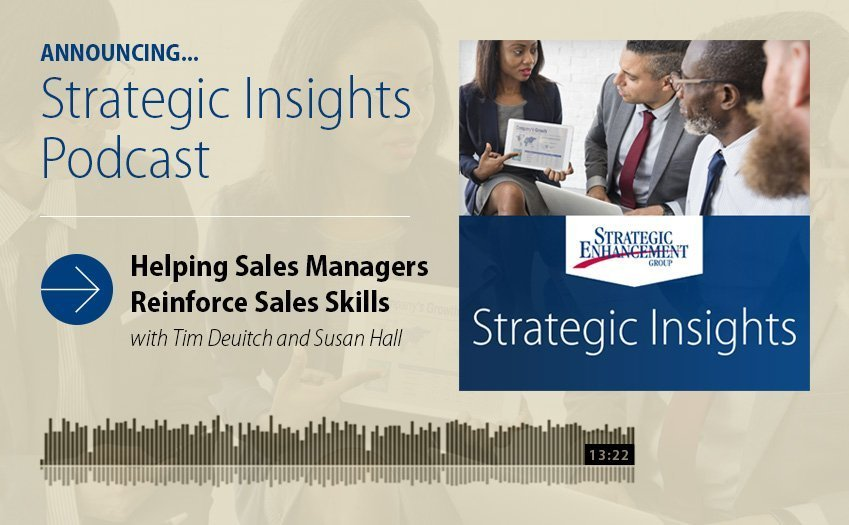 Helping Sales Managers Reinforce Sales Skills