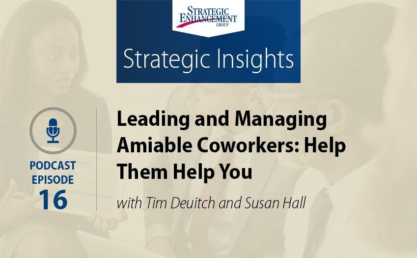 Leading and Managing Amiable Coworkers: Help Them Help You