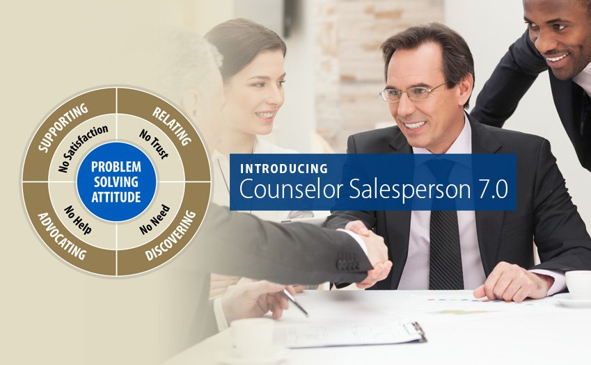 Wilson Learning Announces its Newest Edition of The Counselor Salesperson.