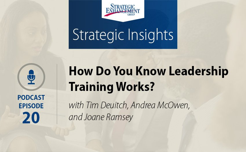 How Do You Know Leadership Training Works?