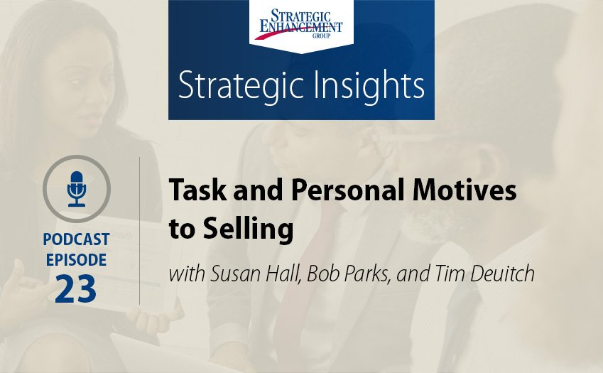 Task and Personal Motives to Selling